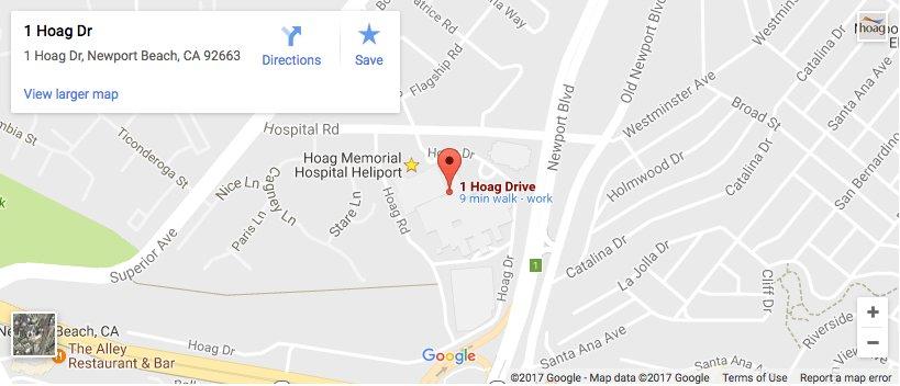 hoag-google-map